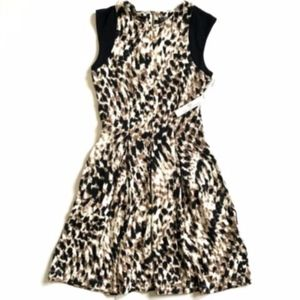 NWT Tart Collections Leopard Print Dress XS NEW